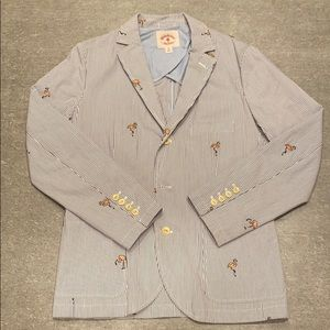 Brooks Brothers - Seersucker with Flamingos Blazer